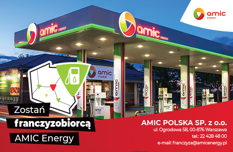 Zostań franczyzobiorcą AMIC Energy
